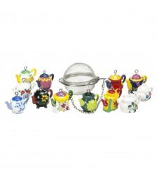 Teapot Charm Mesh Ball Tea Infuser