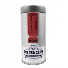 La Vie En Rose - Cherry Rose Green Tea Deluxe Pyramid Tea Bags