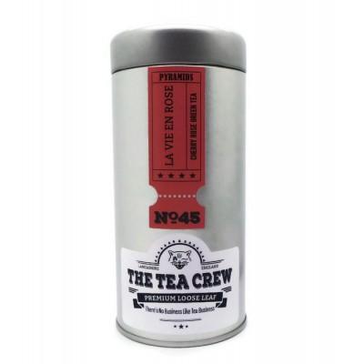 La Vie En Rose - Cherry Rose Green Tea Deluxe Pyramid Tea Bags