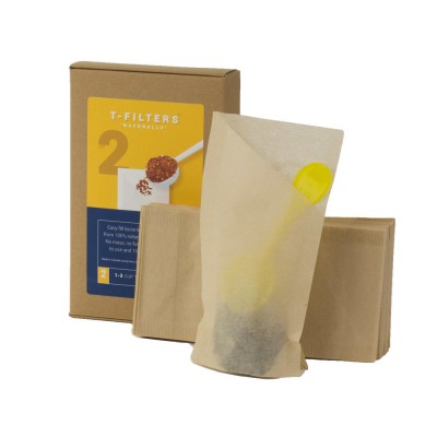 T-Filters Tea Bags - Two-Three Cup Teapot Size