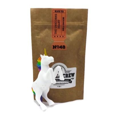 The Unicorns Heart - Vanilla Chai Blend 75g Bag And Unicorn Tea Infuser